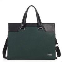 Cowhide handbag men's briefcase genuine leather business men fashion vintage style casual man bag 8748-1-2