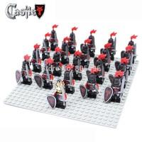21pcs/lot Dragon Knight A Minifigure compatible with lego Building Block doll,Loose Brick accessory Sluban Decool mini figures