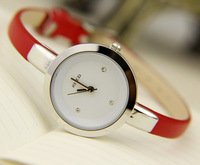 2014 new ladies slim watch fashion pretty ultrathin women's watch Valentine's Day gift cute fine female watch