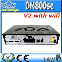satellite receiver Enigma2 Linux dm800se v2 wifi DM800 SE V2 PVR HDTV WIFI Linux Operating System DVB-S2/S free shipping
