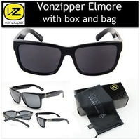 new 2014 America Fashion With Original Pack Vonzipper Elmore Men Sunglasses VZ von zipper Colorful Lens Outdoor Sport Sunglass