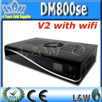 Newest DM800SE V2 satellite receiver dm800sev2 already for HbbTV and Web browser with sim2.2 satellite receiver dm800se wifi v2
