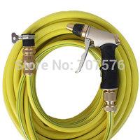 Car washing gun household metal material high pressure water gun head car wash water gun car wash device with 10m vinal hose