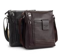 New arrive men bag genuine leather shoulder bag vertical section first layer of cowhide men messenger bag