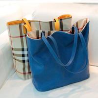 2014 New Style  Women's Handbag Female PU Fashion Shoulder Bag 1 pc Free Shipping BW0763