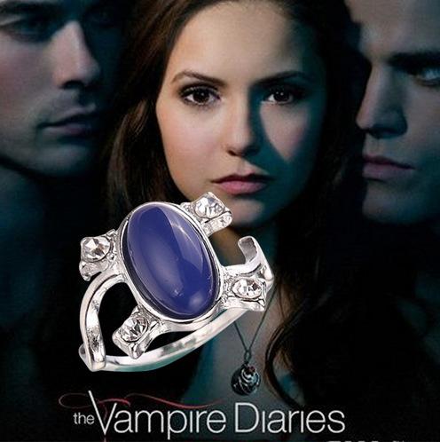 2014 New Arrival Free Shipping Vampire Diaries Elena Anti-sun Retro Rings For Women(China (Mainland))