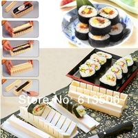 10pcs/set DIY Sushi Maker Model set Kitchen Cooking tools