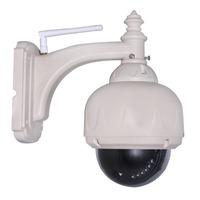 Waterproof Outdoor Plug&Play P2P IR Cut Wireless Wifi Pan/Tilt Security Surveillance System Networking IP Camera Night Vision