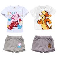 2014 new,girls Frozen clothing,100% cotton kids clothing set,T-shirt+pant,girls summer clothing,children's clothing,,girls sets
