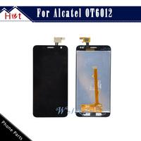 100% Original  LCD Display Touch Digitizer Screen Assembly For Alcatel idol mini 6012 OT6012 OT6012D Free Shipping