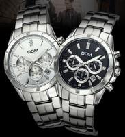 brand military watch men   Dom  quartz   casual   sports          wallet mens watches men wristwatches relogio masculino reloj
