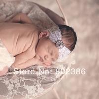 Free Shipping Rhinestone Baby Lace Headband,Kids Hair Accessories,Girl Headband