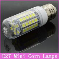 5pcs/lot E27 AC 220V 5W/10W/15W 30/48/69 5050 SMD NEW LED Lamps High Quality Light Ultra Brightness Chip Corn Bulbs