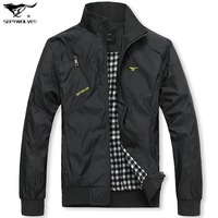 Hot Selling 2014 New Fashion Men Jacket Men's Outerwear Casual Clothing For Men's Jackets Big SizeL- 4XL Free shpping MTS404