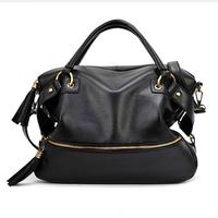New 2014 Factory Direct High Quality Women Leather Handbags Genuine PU Messenger Bags Tote Bag Women Handbag Totes Designs