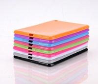 Slim TPU Soft Back Case For Apple Ipad mini Rubber Silica Gel Jelly Case for mini ipad,Free Shipping