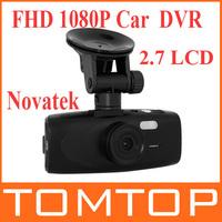 "G1WH 2.7"" LCD 1080P Full HD Car DVR Dash Camera Recorder G-sensor Novatek 96650 140 Degree Angle"