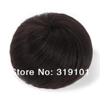100% Human hair bun chignon1 piece free shipping 3colors high quality