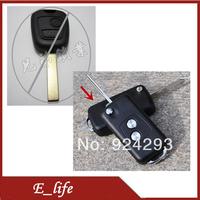 Free shipping!Modified For Peugeot 206 307 Keyless Entry Remote Shell Key Fob Case Housing Flip Key Shell Uncut Key Blade