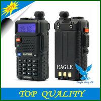 Hot Portable BAOFENG UV-5R 136-174/400-480Mhz Dual Band UHF/VHF Radio Interphone