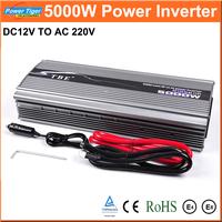 EMS Free Shipping Car Inverter DC12V to AC220V Inverter 5000W Modified Sine Wave Car Power Converter Inverter Peak Power 10000W