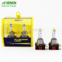 XENCN H15 12V 15/55W 2300K 64176 All Season Super Gloden Yellow Light Brand Car Halogen Bulbs Strong Penetration Headlights 2pcs