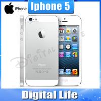 Unlocked Original Apple iPhone 5  GPS WIFI Dure Core 4.0 Screen 32GB storage mobile Phone