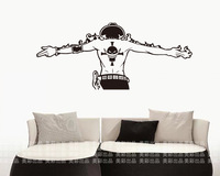 Free shipping ONE PIECE ACE Car Wall Stickers Japanese Decals Vinyl Decal Sticker Home Decoration
