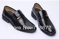 2014 new, men, natural leather, brand, British style, business, leisure, dress shoes, men leather shoes, free shipping