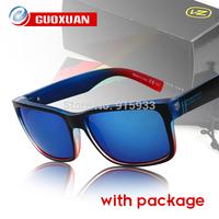 New 2014 Fashion Eye Glasses Sport Outdoor Fun & Sports Coating Sunglass Von Zipper Elmore Original Sunglasses oculos de sol Men