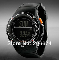 NEW Skmei 5ATM Water Resistant Digital Sports Military Watche Waterproof watches+free shipping