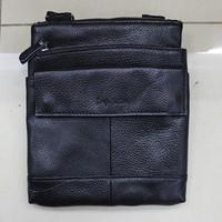 Hot Sale New 2014 Fashion Designer Handbag Men Shoulder Bags Genuine Leather Bags Men Messenger Bag Business Bag Black Brown