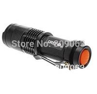 UltraFire 250LM 1 Mode Cree XP-E Q5 Zoom LED Flashlight  (1xAA)