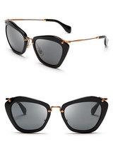 2014 New Brand Women's Embellished Cat-Eye Sunglasses Metal Leg Cat Eye Glasses Oculos Feminino Free Shipping