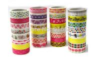 korean stationery New fashion PVC masking cartoon designed DIY tape/cute adhesive tape / DIY sticker label/wholesale