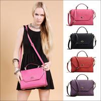2014 New Popular Fashion Vintage Women's Real Genuine Leather Handbag Women Designers Brand Shoulder Bag Messenger Bags NO959
