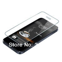 100pcs Thickness Tempered Glass Protection film Screen With Retail Box For Apple iPhone 5 5S 5C Free shipping