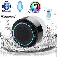 2014 Newest Portable Waterproof Wireless Bluetooth Speaker Shower Car Handsfree Receive Call & Music Suction Phone Mic