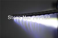 3M Sticker Universial Flexible Black Shell Car Fog Lamp Silica Gel Silicon Rubber High Bright 9W Daytime Running Light Auto DRL