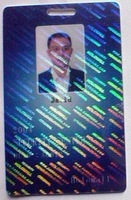 7 type states hologram overlay sticker for cards