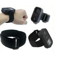 Nylon Velcro WiFi Remote Hand Wrist Armband Strap Belt for GoPro Hero 3 pluse remote  and hero 3 remote