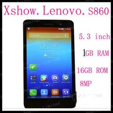 FREE SHIPING instock Original Lenovo S860 phone Quad-core CPU 16G ROM 1G RAM 8M Camera 4000mah battery   aviliable ANDROID4.2(China (Mainland))