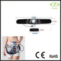 Free DHL Home Use Health Vibration Slimming Massage Belt Comfortable Waistbelt Massager 4 Models 10 Strenght Levels