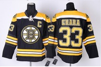 Wholesale Cheap Ice Hockey Boston Bruins 33 Zdeno Chara Jerseys C Black Home white yellow winter classic Size S-XXXL