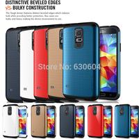 Latest Hard Hybrid SLIM ARMOR SPIGEN SGP Case Cover for Samsung Galaxy S5 SV i9600 10pcs/lot=5pcs Case +5pcs Screen Protector