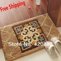 Wholesale Hall Floor Mats Slip-resistant Pads Entrance Mats Doormat Indoor Mat Carpet Bath Mat 50X80