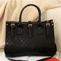 Fashion High Quality Plaid Women Leather Handbags PU Bag Women Messenger Bags Handbag Clutch Shoulder Bags