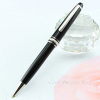 Business & School Supplies Best Design Sapphire Blue Wave of The Ocean Carved Sliver Clip Ballpoint Pen Best Stationery