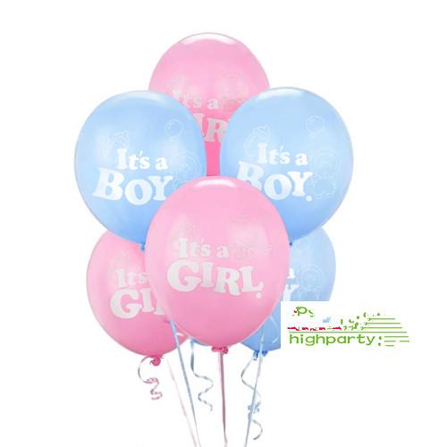 Online kopen wholesale baby pink balloons uit china baby pink balloons groothandel - Baby voet verkoop ...