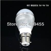 Wholesale(5pieces/lot)Led B22 AC85-265V 9w 7w 6w 5w 4w 3w Warm/White lighting LED Bulb Lamp light